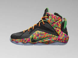 lebron toddler shoes. kid\u0027s nike lebron 12 \u0027fruity pebbles\u0027 lebron toddler shoes
