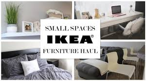 tiny spaces furniture. Ikea Ideas For Small Spaces Furniture Haul Tiny S