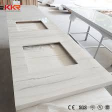 corian artificial stone solid suface countertop for hotel