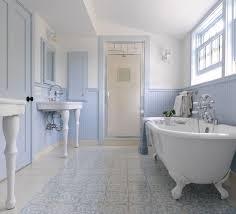 country bathroom design ideas. Fine Bathroom Light Blue Farmhouse Bathroom Intended Country Design Ideas L