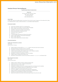 Nurse Manager Resume Fascinating Director Of Nursing Resume Resume For Assistant Director Of Nursing