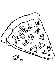 Small Picture Pepporoni Pizza Coloring Page Pizza Coloring Pages Children