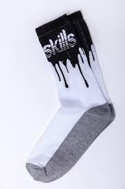 <b>Носки SKILLS Нефть</b> Белый/Черный