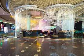 las vegas nevada may 6 the chandelier bar at the cosmopolitan resort las vegas nevada on may 6 2016 this stunning tri level chandelier encases the