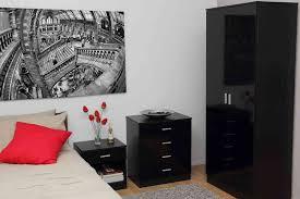 White High Gloss Bedroom Furniture Raya Furniture - Bedroom tallboy furniture