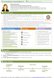 Resume For Marketing Executive Communications Manager Examples