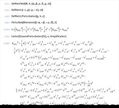 riemann perturbations of einstein s gravitational field equation