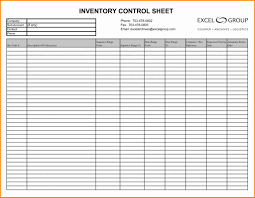 Equipment Inventory Forms Templates Spreadsheet Template