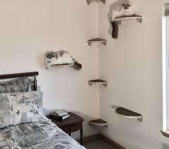 Corner Cat Shelves Mesmerizing 322pc Floating Corner Cat Tree Lunar Collection 32 Cat Shelves Kitty