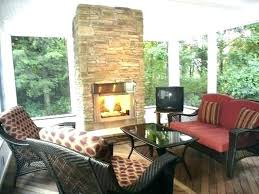 screened outdoor porch fireplace covered patio with in back if you love the outdoors a is porch fireplace corner outdoor
