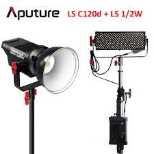Aputure Light Storm Ls 1 2w Led Light Aputure Led Studio Light Kit Ls C120d Ls 1 2w Professional
