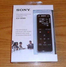 sony ux560. item 4 sony icd-ux560 \u003d\u003d 4gb stereo digital voice sound recorder new in box -sony ux560