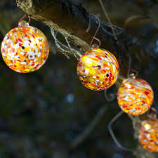 solar string lights. Wonderful Lights Solar Glass String Lights And