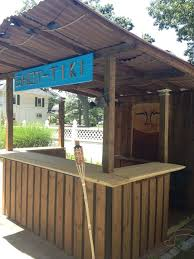 home tiki bar plans beautiful 146 best the patio bar images on of home tiki