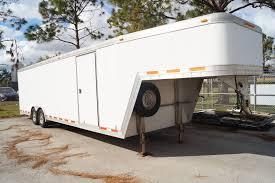 2000 featherlite 4941 44ft toy hauler trailer