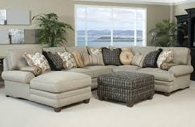 Encourage Q Torrington Linen Nailhead Comfortable Sectional Sofas Chaise  Sectional Knightsbridge Tufted Scroll Arm Chesterfield Seat