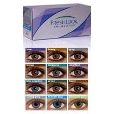 Цветные <b>контактные линзы</b> CIBA Vision <b>FreshLook</b> ColorBlends ...