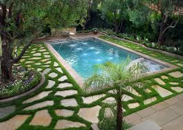 backyard with pool and garden beautiful swimming pool designs for backyard garden olpos design