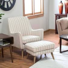 red accent chair with ottoman high back living room at home chairs concept quality