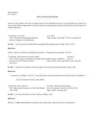 Esp Apa Style Worksheet 1 Psy2150 Prin Experimental Design Studocu