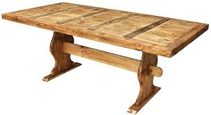 large rustic dining table large trestle rustic pine dining table extra large round rustic dining table