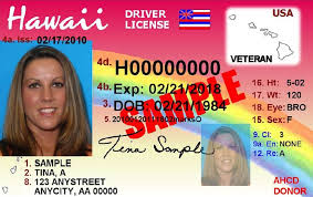 Licenses Driver's By October Idscanner Tokenworks - Hawaii Designation On 2014 Allows com Veteran New Inc