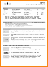 3 It Resume Format For Freshers Marriage Biodata