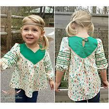 Tunic Sewing Pattern Adorable Striped Swallow Designs Girls Wanderer Tunic Sewing Pattern Girl