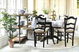 Interesting Rug Under Round Kitchen Table To Decorate With A Dining And Creativity Ideas