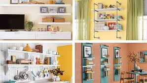 Self Paint Floating Shelves Interesting DIY Shelving Ideas For Added Storage