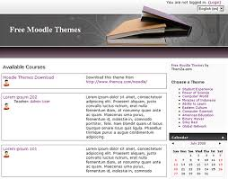 Library Template Free Download Free Moodle Themes Knowledge Library