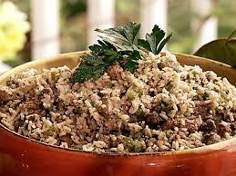 louisiana dirty rice stuffing