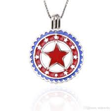 2019 925 sterling silver american flag stars and stripes cage pendants for diy charms 21 8 16 7 9 4mm fashion jewelry jewelry making from aimjewelry