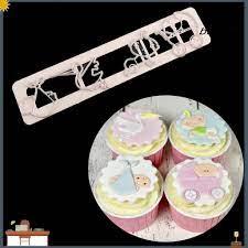 Khuôn Làm Bánh Kẹo Hình Xe Đẩy Em Bé Đáng Yêu Diy giảm tiếp 21,000đ