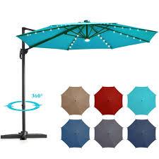 10 ft patio offset cantilever umbrella