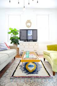 two rugs in one room elegant how to mix multiple the same emily henderson regarding 1