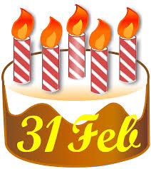 February Birthday Cakes File31 February Birthday Cakesvg Wikimedia Commons
