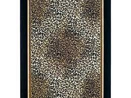 animal print bathroom rug leopard bath towels rugs clearance towe