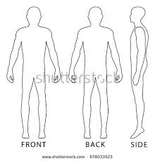 Male Human Body Silhouette