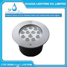 Multi Color Pool Light Hot Item 36w Ip68 Waterproof Stainless Steel Multi Color Led Underwater Pool Light For Fountain