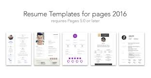 Resume Template Pages Mac Free Resume Templates For Mac Pages