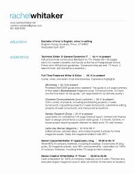 21 Unique Stock Of Sample Bartender Resume 2 Resume Format Example