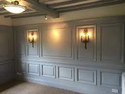 wall paneling ideas living room