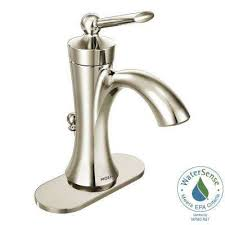 wynford single hole 1 handle high arc bathroom faucet in polished nickel