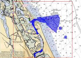 H11591 Nos Hydrographic Survey Canaveral Ponce De Leon