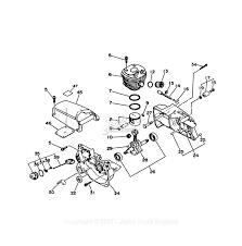 Echo cs 4500 parts diagram for engine crankcase