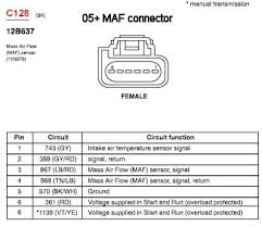 vmp 5000 vmp hpx 05 slot style maf sensor click here for a wiring diagram for the 05 slot style ford maf
