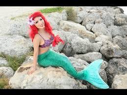 disney s little mermaid makeup tutorial