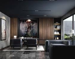 Office Interior Design Ideas 38 Modern Dark Office Interior Design Ideas Hoomdsgn