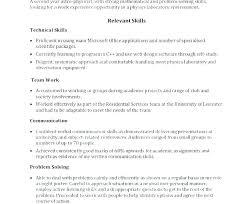 Skill Examples For Resume Problem Solving Skills Resume Sample